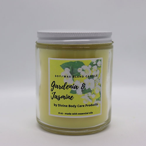 Gardenia and Jasmine 8 Oz.