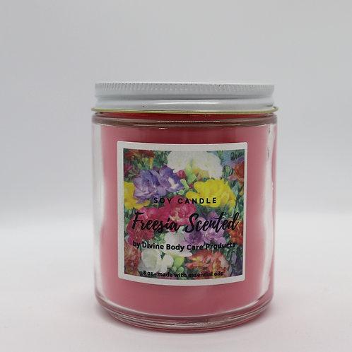 Freesia 8oz candle