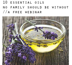 Free Essential Oil Webinars | Mon + Tues in July