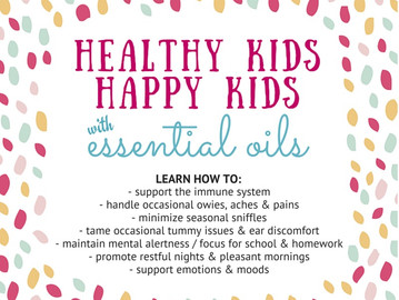 Healthy Kids, Happy Kids Free Webinar // Aug. 3rd + 17th