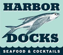Harbor Docks Sign Logo