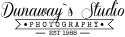 dunaway's studio black transparent logo