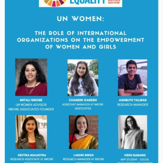 The Role Of International Organization On The Empowerment Of Women and Girls