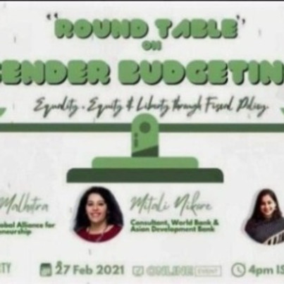 Gender budgeting, Policy and Development | Student for Liberty South Asia