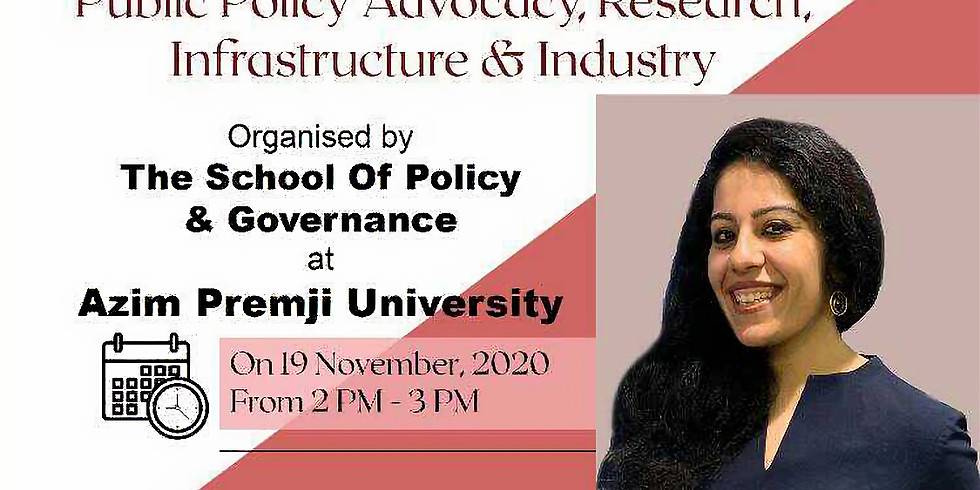 Public Policy Advocacy, Research, Infrastructure and Industry Webinar