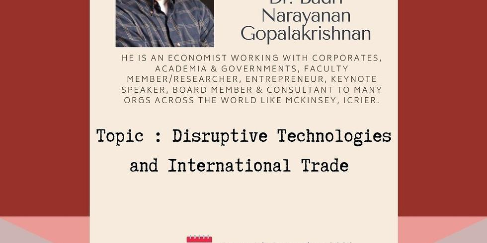 NA Knowledge Cafe Session with Dr Badri Gopalakrishnan