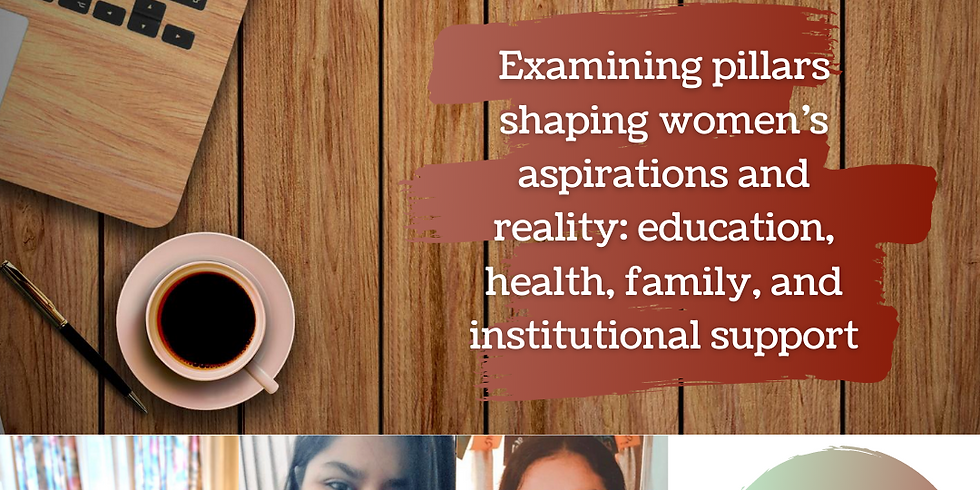 Examining pillars shaping women's aspirations and reality: Education, Health, Family and Institutional Support
