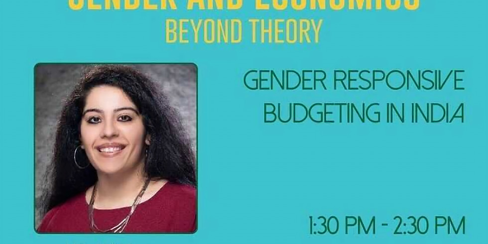 Gender and Economics: Beyond theory