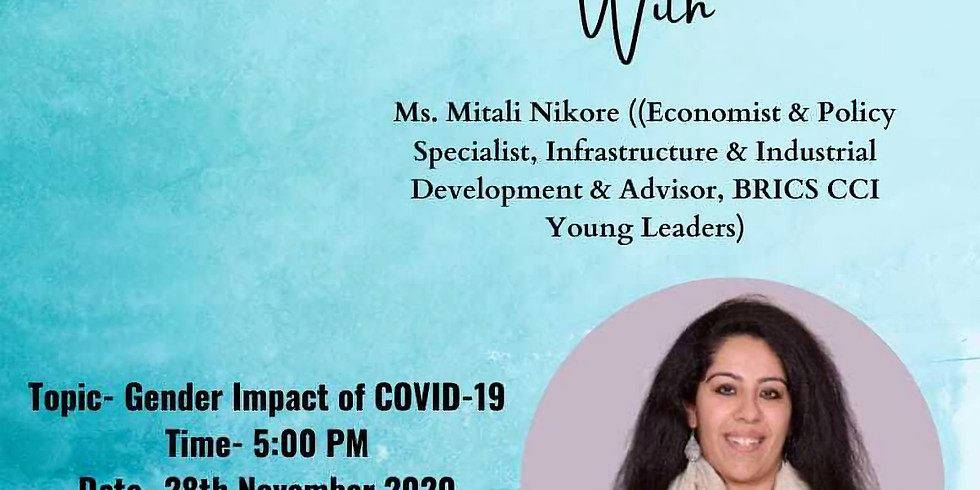 BRICS CCI Young Leaders Workshop on Gender Impact of Covid 19