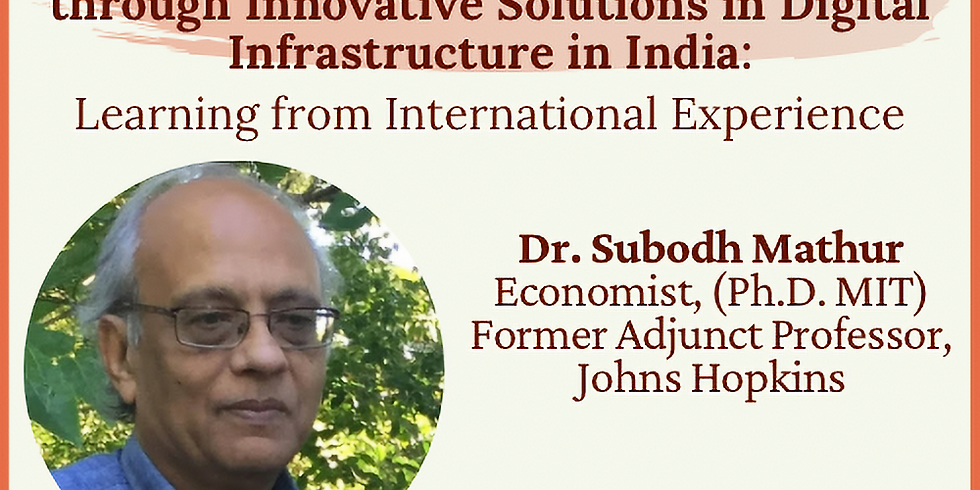 Bridging the Urban Rural divide through innovative solutions in Digital Infrastructure in India