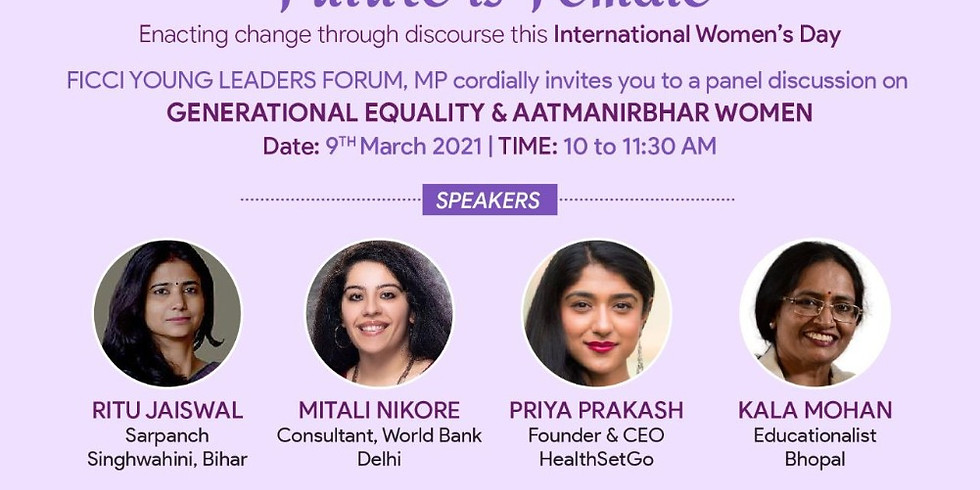 Generational Equality & Aatmanirbhar Women