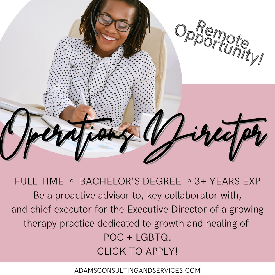 Operations Director - Remote