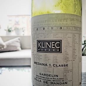 Klinec Sivi Pinot 'Gardelin' Medana 1. Classe Goriska Brda 2013 Slovenia Pinot Grigio