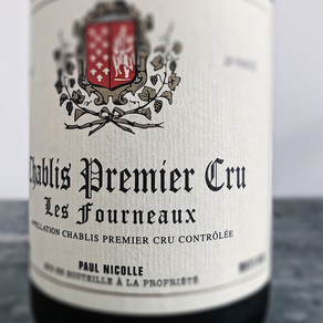 """Paul Nicolle Chablis Premier Cru """"Les Fourneaux"""" 2017 Chardonnay"""