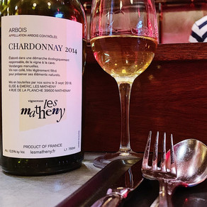 Vignerons Les Matheny Chardonnay Arbois Jura France 2014 Chardonnay
