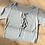 Thumbnail: Front tie crop top - grey