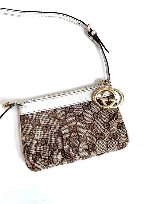 Gucci monogram mini crossbody bag