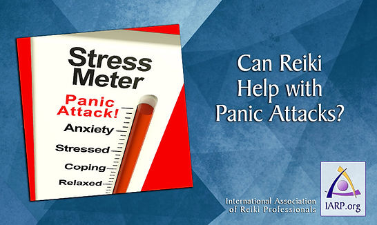 Reiki helps panic attacks