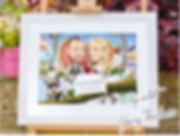Caricature Framed Portraits