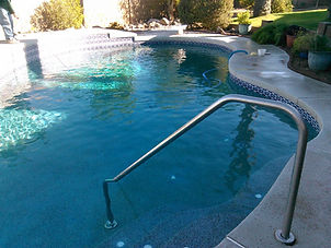 Image of a completed pool remodel by American Pools, LLC serving Glendale, Surprise, Peoria, and El Mirage, Arizona