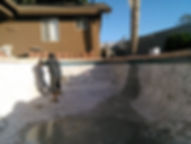 Image showing the American Pools, LLC at a swimming pool remodeling job site
