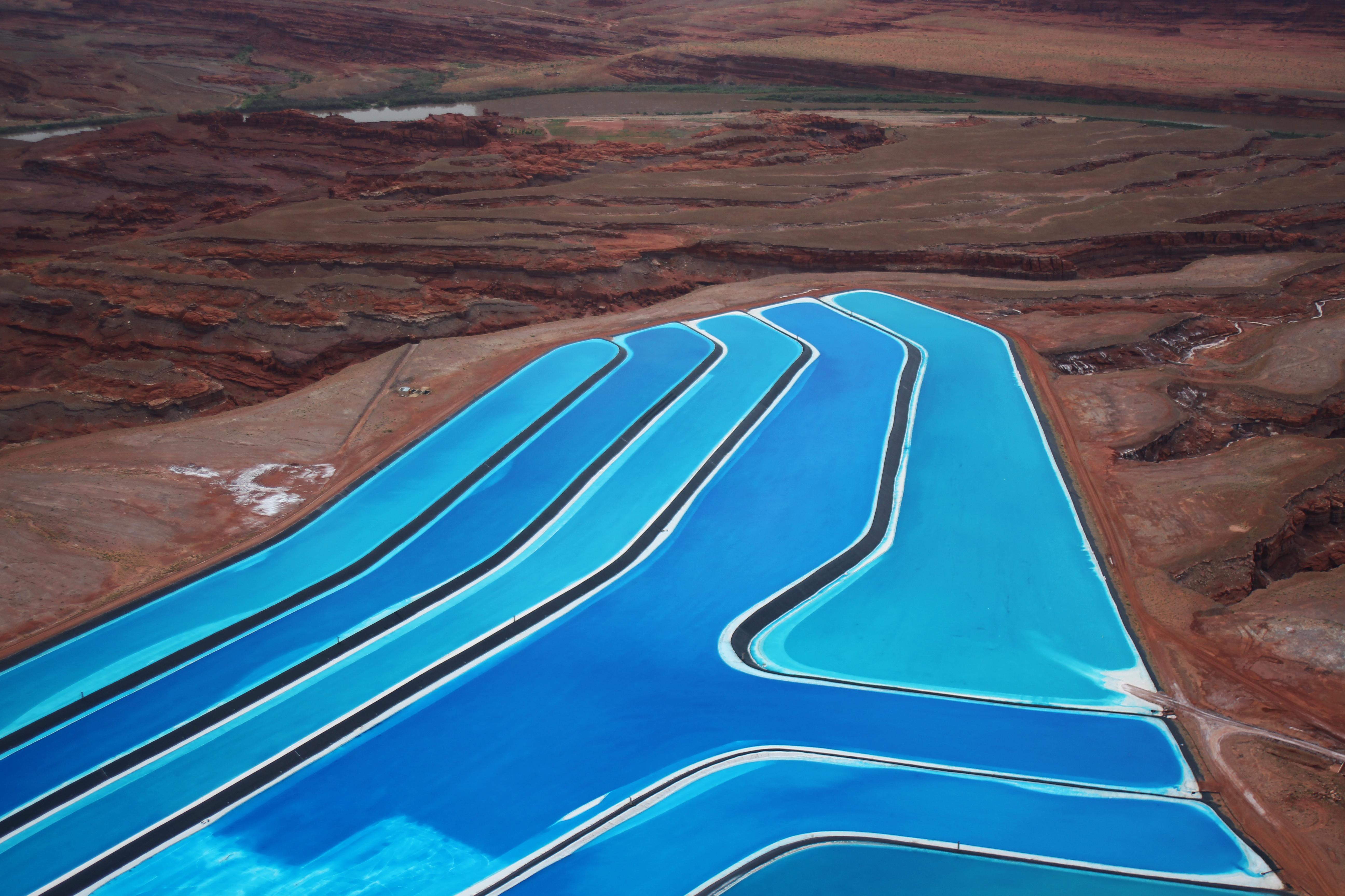 Potash Ponds Moab, Utah