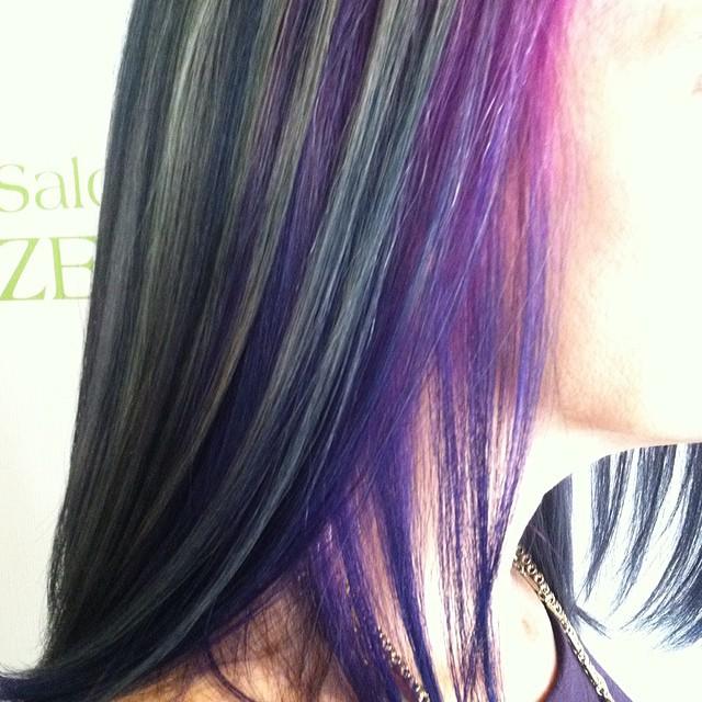 #salondezen #salon #hair #haircolor #fashionhair #dominique #dominiquesnow #dominiquesnow