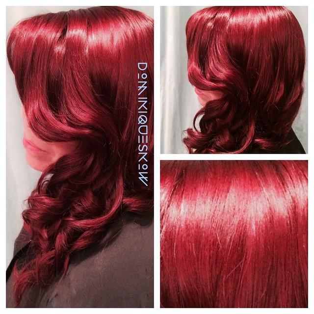 #hairt #hairart #haircolor #redhead #redhaircolor #redhair #Keune #keuneeducation #keunecolor #sopur