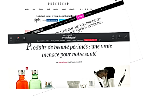 Presse féminine article produit cosmétique périmé BeautyCase