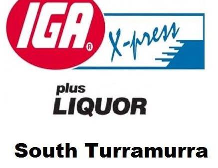 ** IGA X-press South Turramurra - Platinum Sponsor of the 2018 Trivia Night **