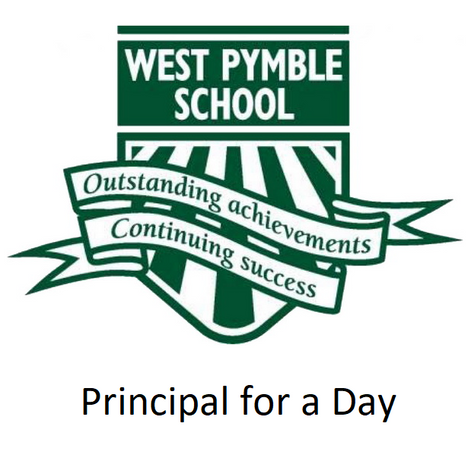 Bid so your child can be Principal for the day!  Let's see who will Rule the School!!