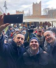 Zingaretti a Reggiolo