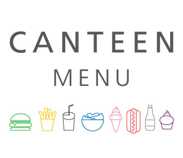 Canteen Menu - Summer 2018