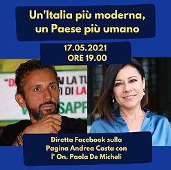 diretta facebook con Paola De Micheli 17