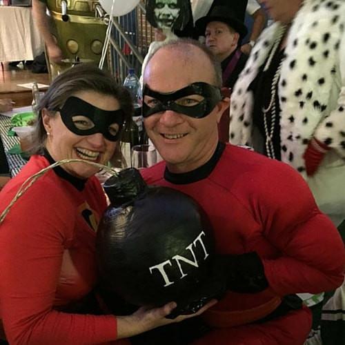Trivai Night Heros and Villains
