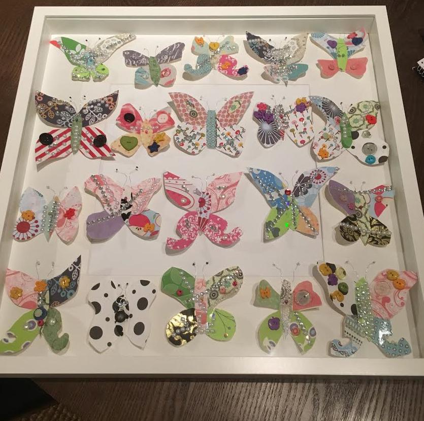 Butterflies, by KT (2016)