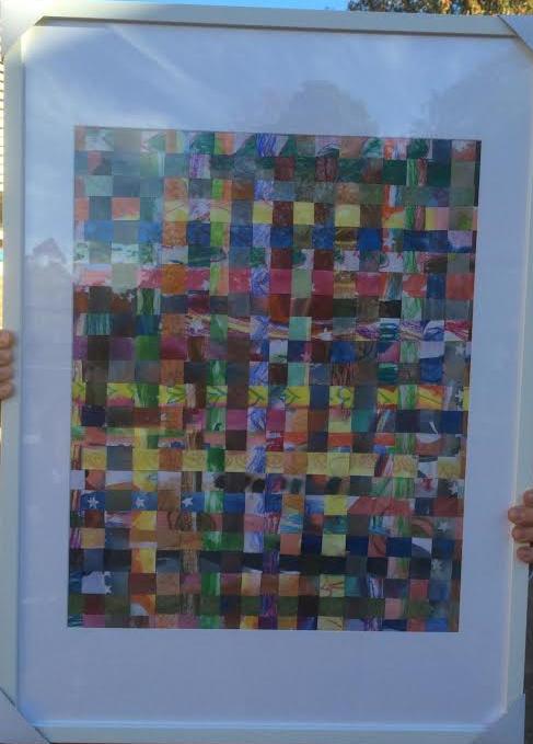 Weaving Rainbows, by 1B (2016)