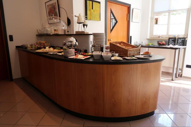 Frühstückstheke