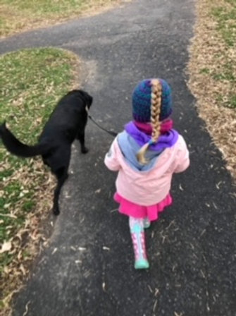 Children's Ponytail Beanie