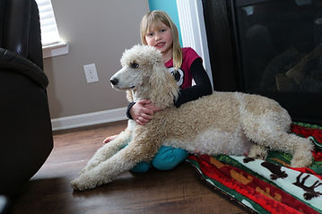 Carmichael kid with Lexi