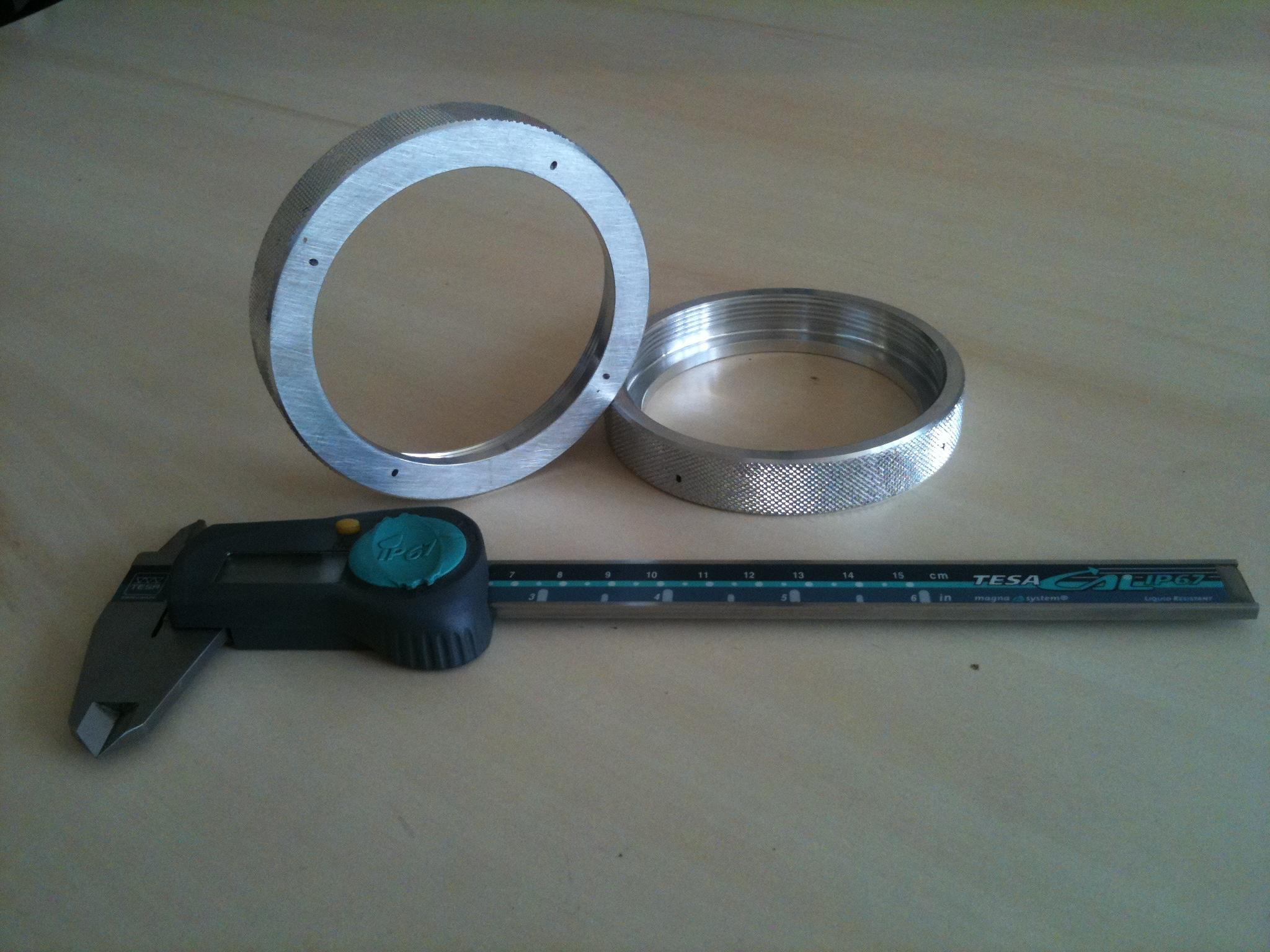 Ecrous Aluminium