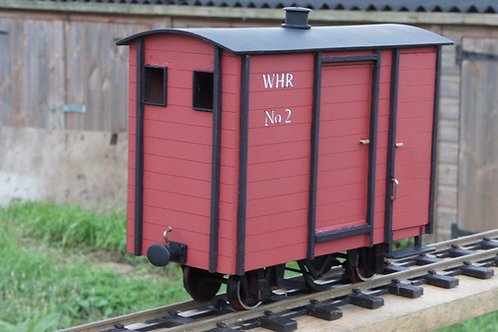 NWNGR Goods Brake No2 wagon Kit