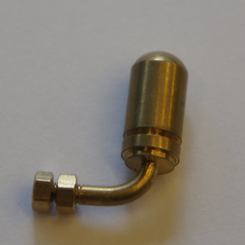 brass machined dummy whistle
