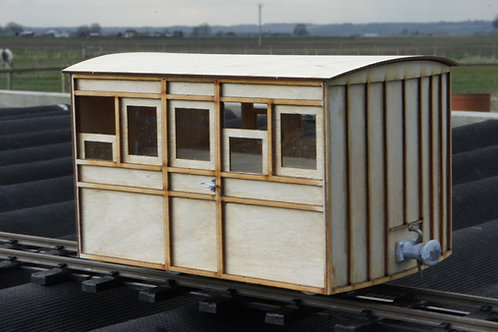 16mm Scale FR Carriage No 2,5 first Class Carriage Kit