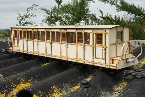16 mm scale Ffestiniog  No15  Bogie Passenger Coach Kit
