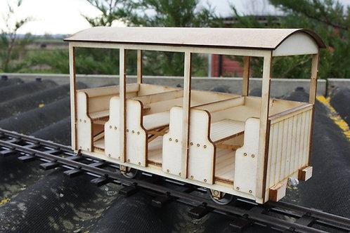16 mm scale Coach TR No7 1953