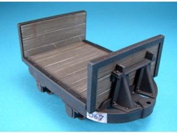 16mm Scale Hudson Bulkhead Flat Wagon