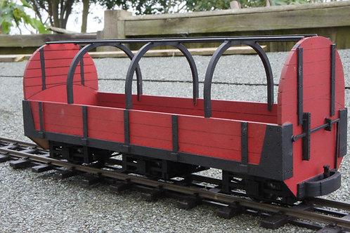 Clemison Canvas Frame open Goods Wagon kit