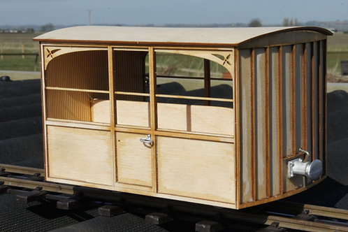 16mm Scale FR Carriage No1 Observation Saloon Carriage Kit