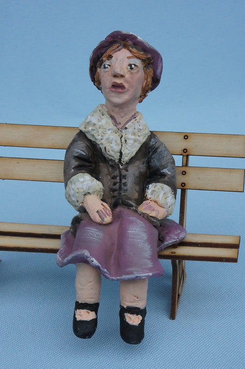 1036Miss Brodie Chair women of the W.I (Height 85 mm)
